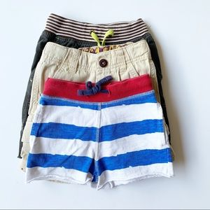 Mini Boden Shorts: Set of 3 Shorts